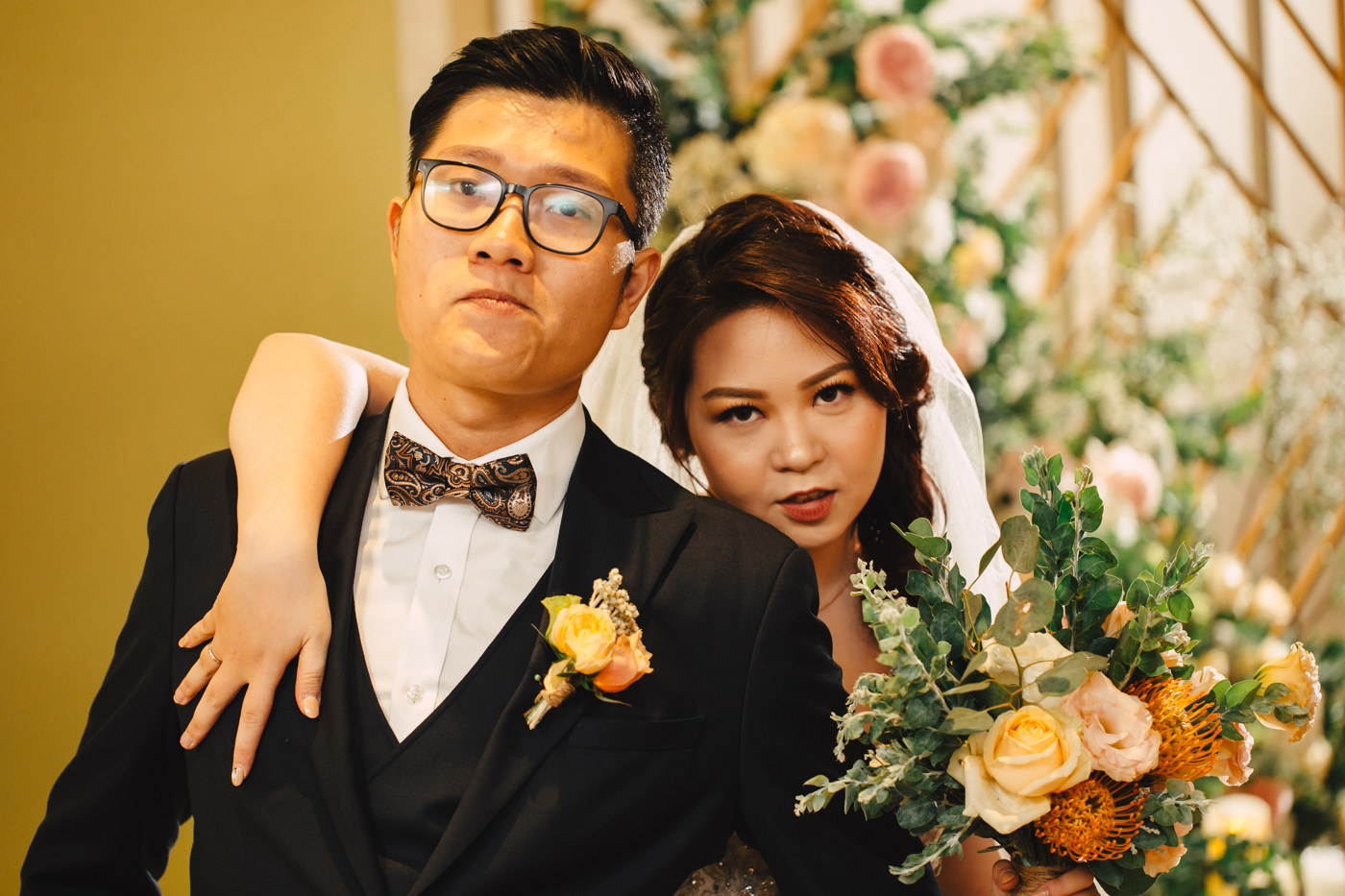 Anh + Uyen's Real Wedding | Saigon, Vietnam